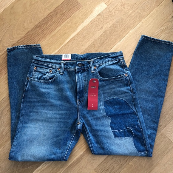 Levi's 512 Slim Taper Warp Stretch Jeans  Pink NEW NWT  Multiple Sizes